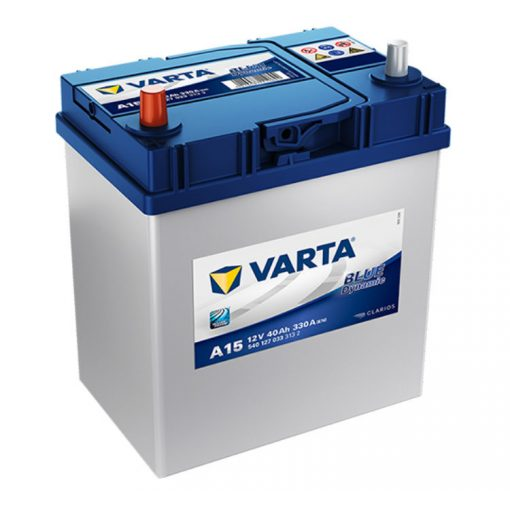 Varta Blue Dynamic 12V 40Ah 330A Bal+ ázsiai autó akkumulátor (A15) - 540127