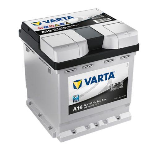 Varta Black Dynamic 12V 40Ah 340A Jobb+ autó akkumulátor (A16) - 540406