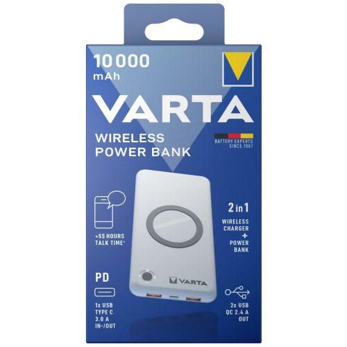 VARTA Wireless Power Bank 10000mAh töltő
