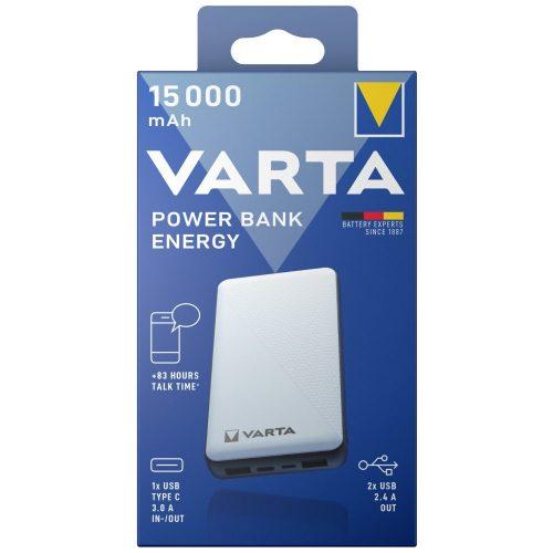 VARTA Portable Power Bank Energy 15000mAh töltő
