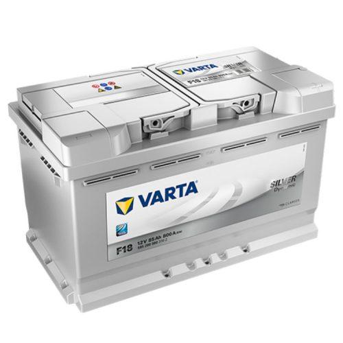 Varta Silver Dynamic 12V 85Ah 800A Jobb+ autó akkumulátor (F18) - 585200