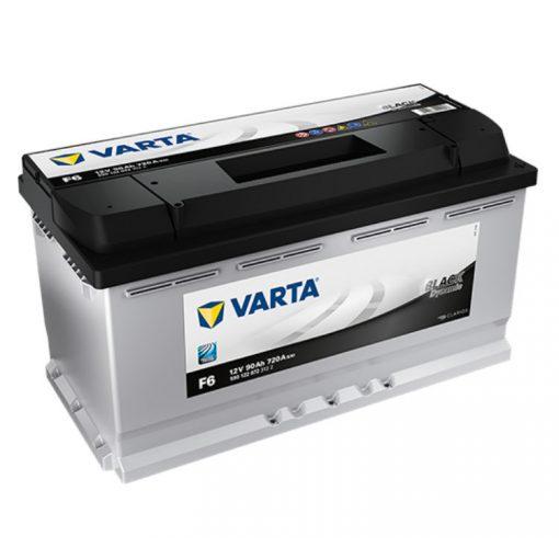 Varta Black Dynamic 12V 90Ah 720A Jobb+ autó akkumulátor (F6) - 590122