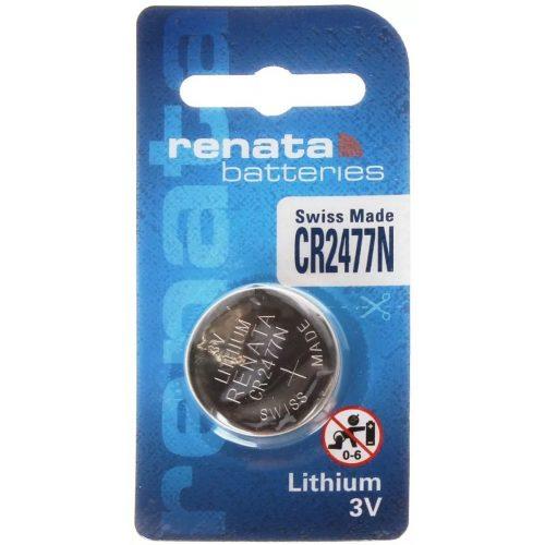 Renata CR2477N 3V lítium gombelem - peremes