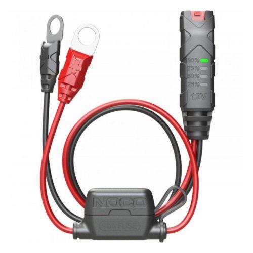 NOCO X-Connect Szemes csatlakozó, biztosítékkal, kijelzővel (M10)